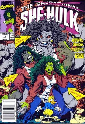 Sensational She-Hulk (1989-1994)#15