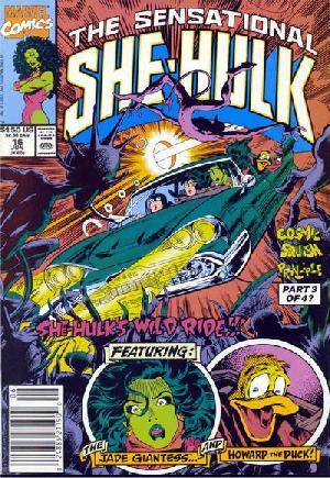Sensational She-Hulk (1989-1994)#16