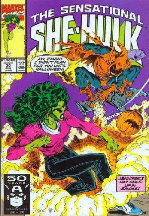 Sensational She-Hulk (1989-1994)#30