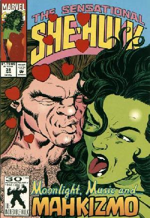 Sensational She-Hulk (1989-1994)#38