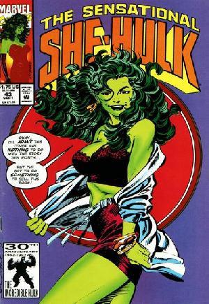 Sensational She-Hulk (1989-1994)#43