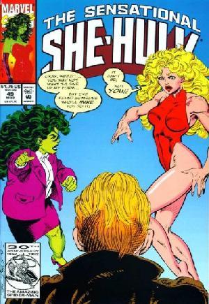 Sensational She-Hulk (1989-1994)#49