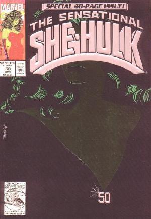 Sensational She-Hulk (1989-1994)#50