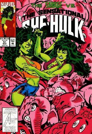 Sensational She-Hulk (1989-1994)#51