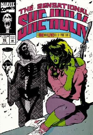 Sensational She-Hulk (1989-1994)#52A