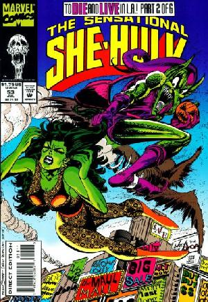 Sensational She-Hulk (1989-1994)#53