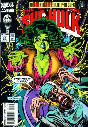 Sensational She-Hulk (1989-1994)#54