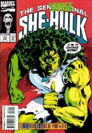 Sensational She-Hulk (1989-1994)#55