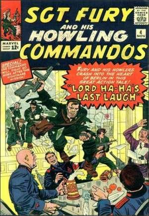 Sgt. Fury (1963-1981)#4
