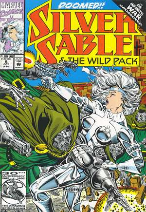 Silver Sable and the Wild Pack (1992-1995) #5B