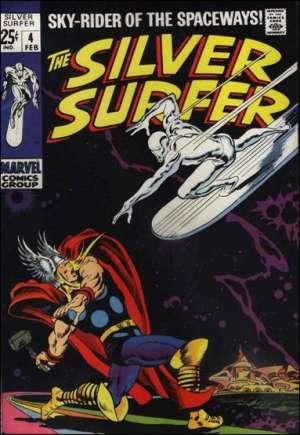 Silver Surfer (1968-1970)#4