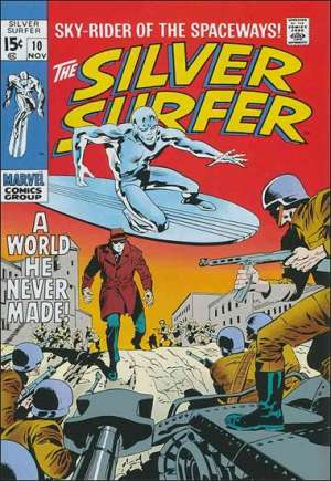 Silver Surfer (1968-1970)#10