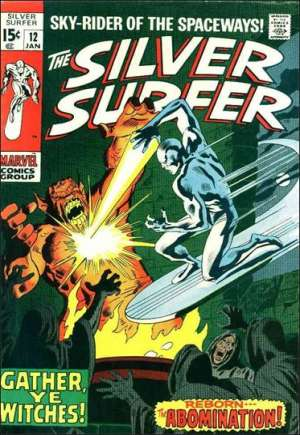 Silver Surfer (1968-1970)#12A