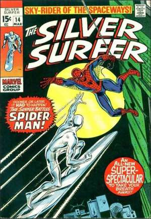 Silver Surfer (1968-1970) #14A