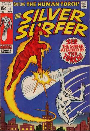 Silver Surfer (1968-1970) #15A