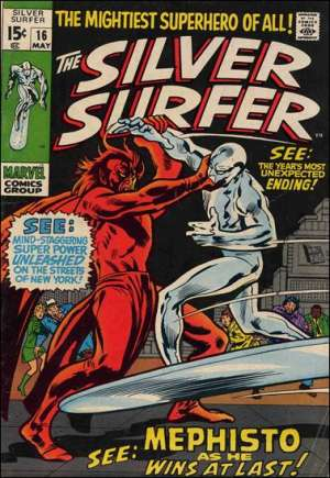 Silver Surfer (1968-1970) #16