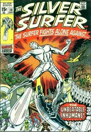 Silver Surfer (1968-1970)#18
