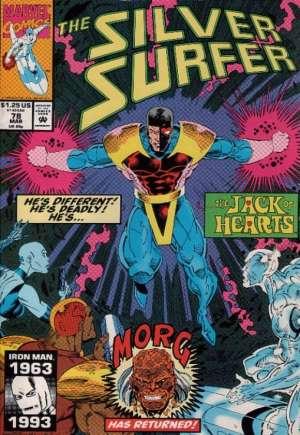 Silver Surfer (1987-1998)#78
