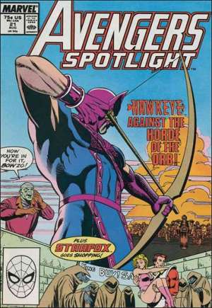 Avengers Spotlight (1989-1991)#21