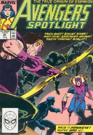 Avengers Spotlight (1989-1991)#24