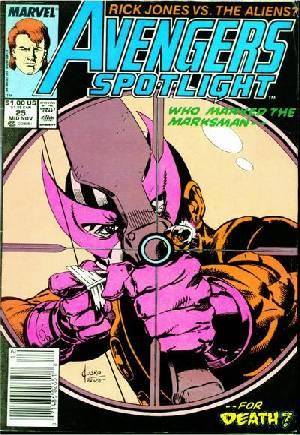 Avengers Spotlight (1989-1991)#25A