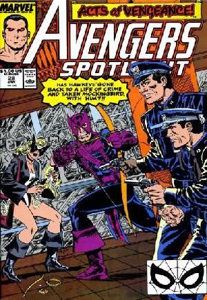 Avengers Spotlight (1989-1991)#28