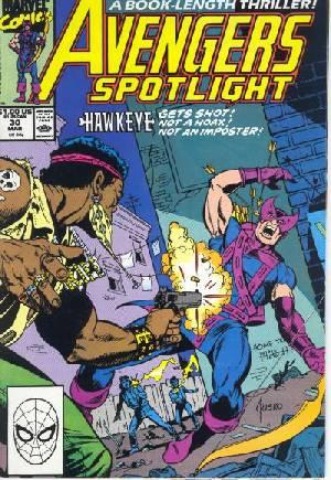 Avengers Spotlight (1989-1991)#30