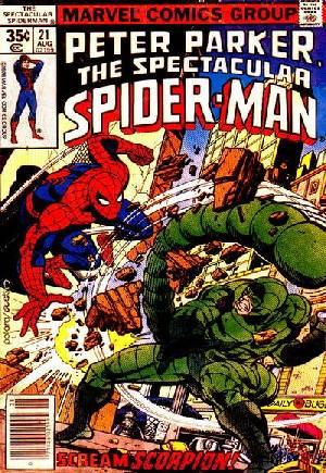 Spectacular Spider-Man (1976-1998)#21