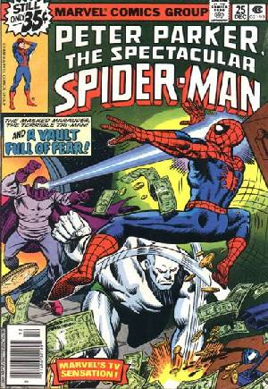 Spectacular Spider-Man (1976-1998) #25A
