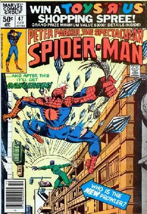 Spectacular Spider-Man (1976-1998)#47A