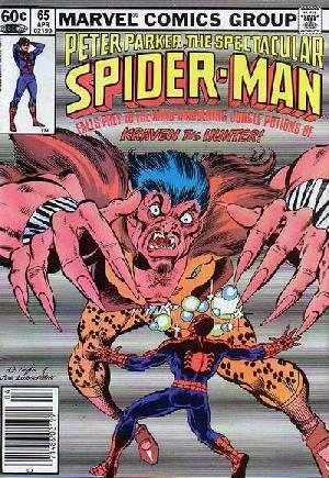 Spectacular Spider-Man (1976-1998)#65A