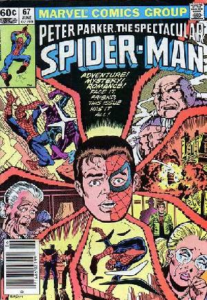 Spectacular Spider-Man (1976-1998)#67A