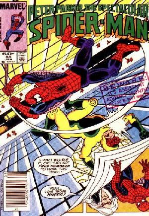 Spectacular Spider-Man (1976-1998)#86A