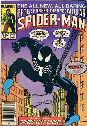 Spectacular Spider-Man (1976-1998) #107A