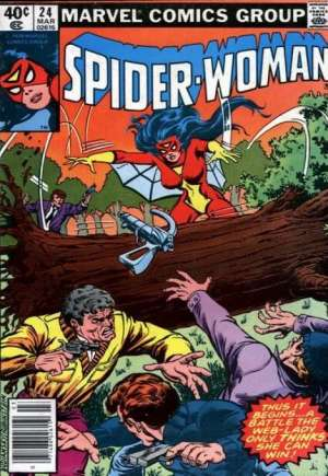 Spider-Woman (1978-1983)#24A