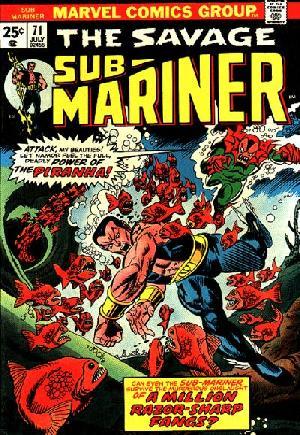Sub-Mariner (1968-1974)#71