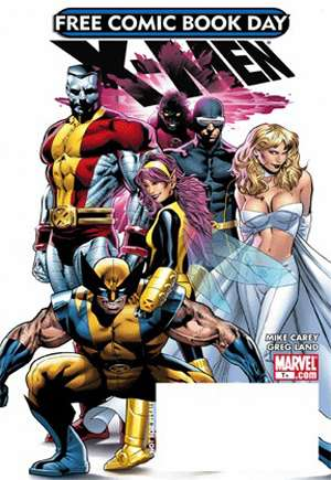 Free Comic Book Day 2008 X-Men (2008)#One-Shot