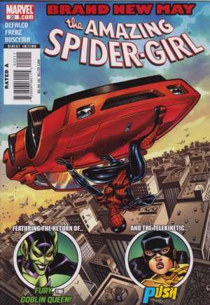 Amazing Spider-Girl (2006-2009)#22