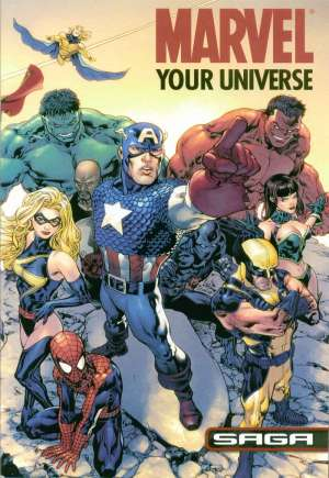 Marvel: Your Universe Saga (2008) #1