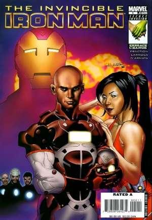 Invincible Iron Man (2008-2012)#5A