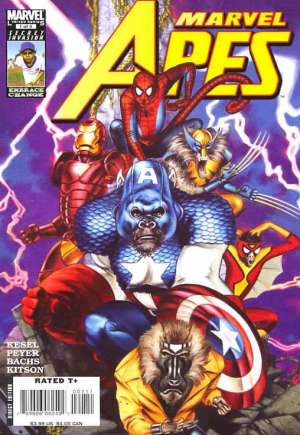 Marvel Apes (2008-2009) #1A