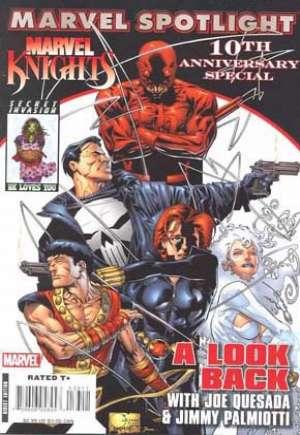 Marvel Spotlight: Marvel Knights 10th Anniversary (2008)#1A