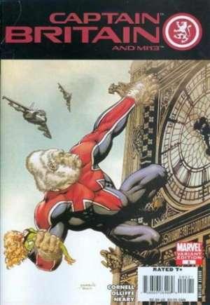 Captain Britain and MI13 (2008-2009)#5B