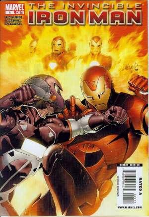 Invincible Iron Man (2008-2012)#6A