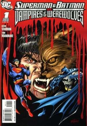 Superman and Batman vs. Vampires and Werewolves#1