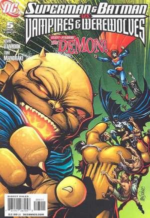 Superman and Batman vs. Vampires and Werewolves#5
