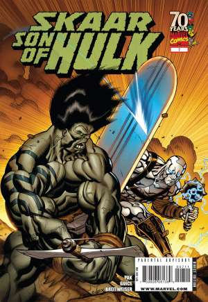 Skaar: Son of Hulk (2008-2009) #7A