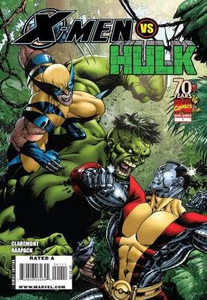 X-Men vs. Hulk (2009)#One-Shot