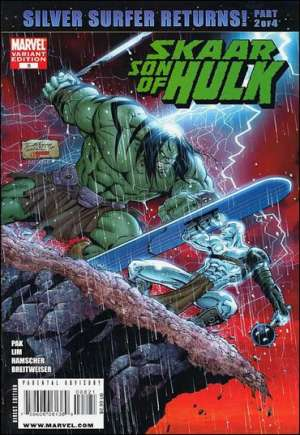 Skaar: Son of Hulk (2008-2009)#8B