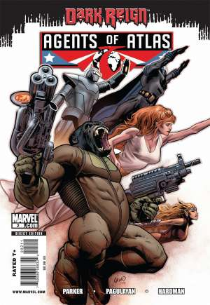 Agents of Atlas (2009)#2A